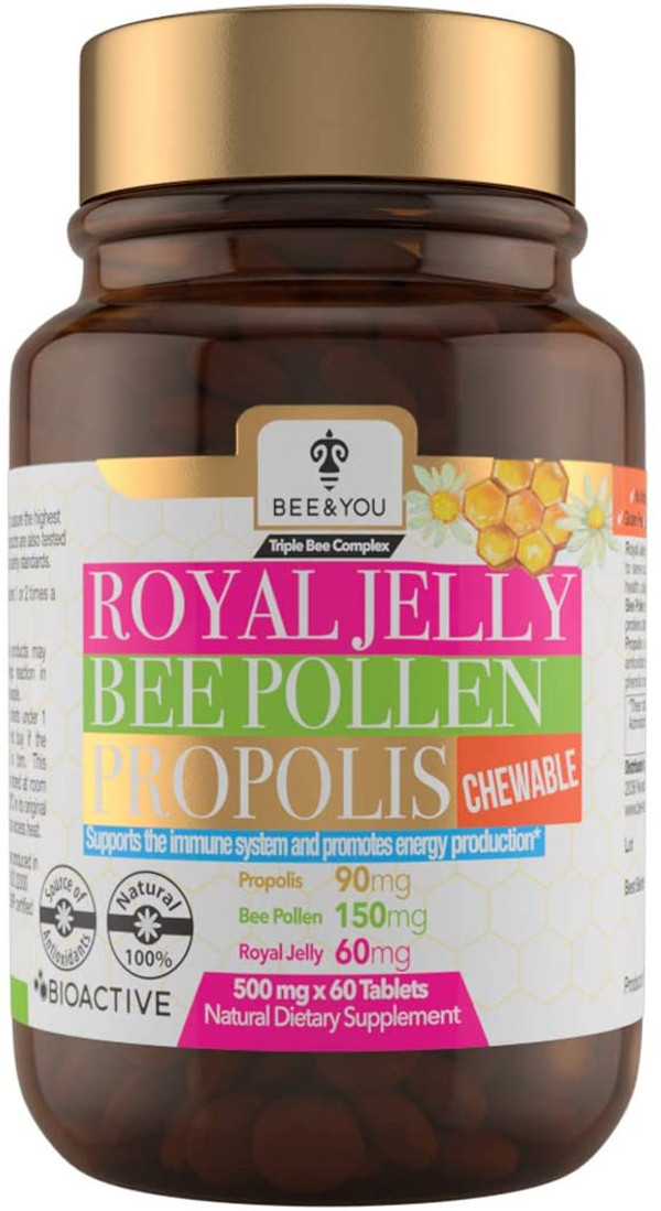 Royal Jelly Bee Pollen Propolis (chewable)