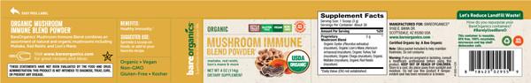 Mushroom Immune Blend