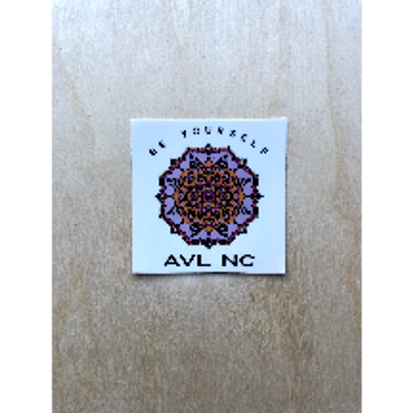 Be Yourself AVL NC Sticker