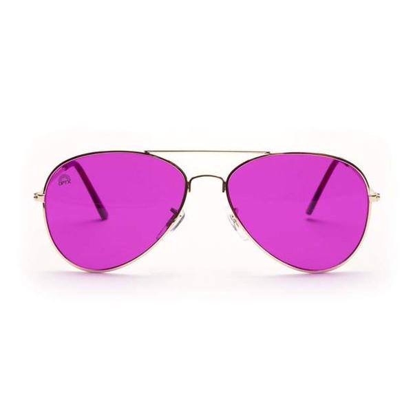 Magenta Color Glasses