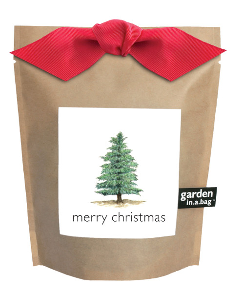 Garden-in-a-bag Christmas Tree