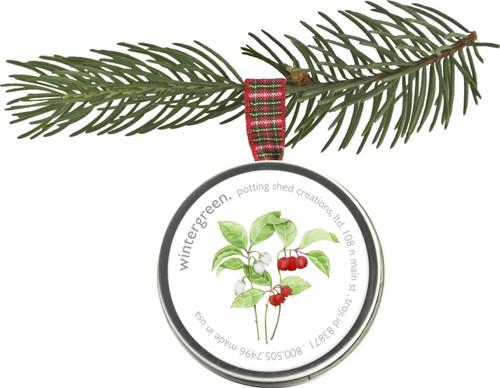 Holiday Ornament Wintergreen