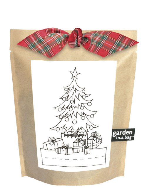 Kids Garden-in-a-bag Christmas Tree