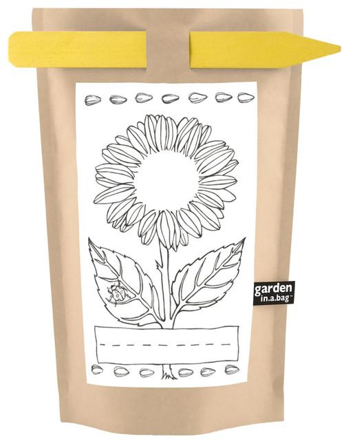Kids Garden-in-a-bag Sunflower