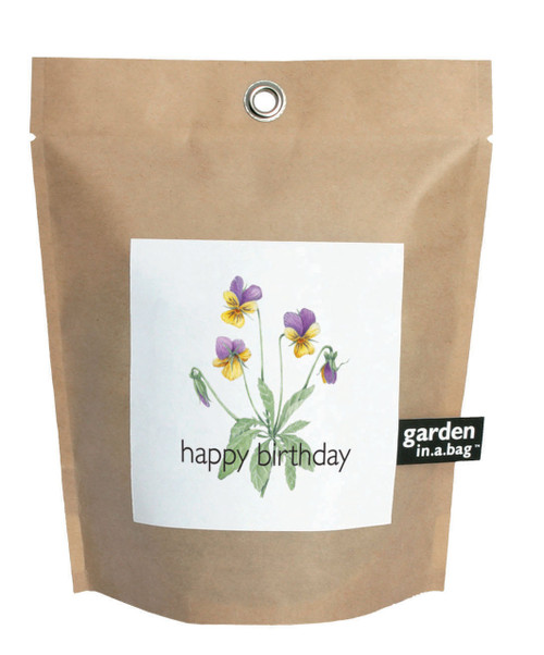 Garden-in-a-bag Happy Birthday