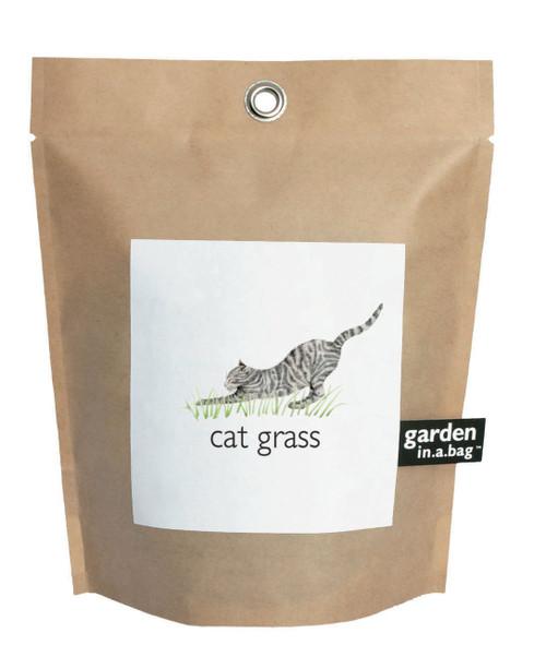 Garden-in-a-bag Cat Grass