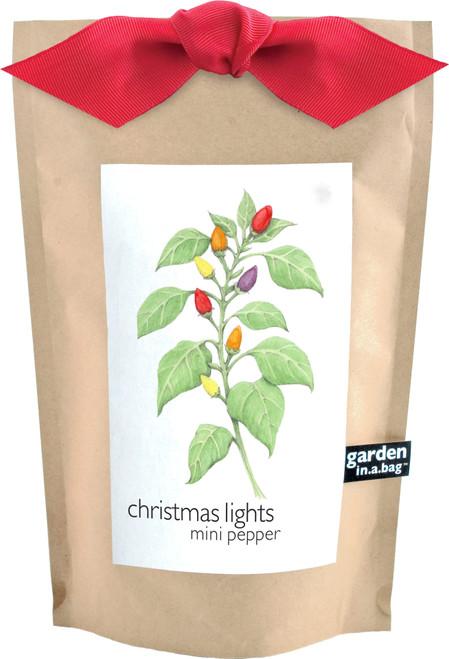 Garden-in-a-bag Christmas Lights Pepper