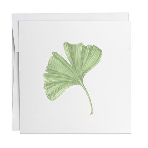 Ginkgo Note Card