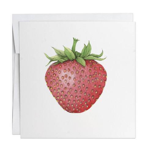 Strawberry Note Card