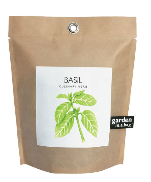 Garden-in-a-bag Basil