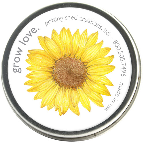Garden Sprinkles Grow Love Sunflower