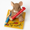 "Charming Tails Mouse LOVE ""I Love My Little Doodle Bug"" Artist 4043865"