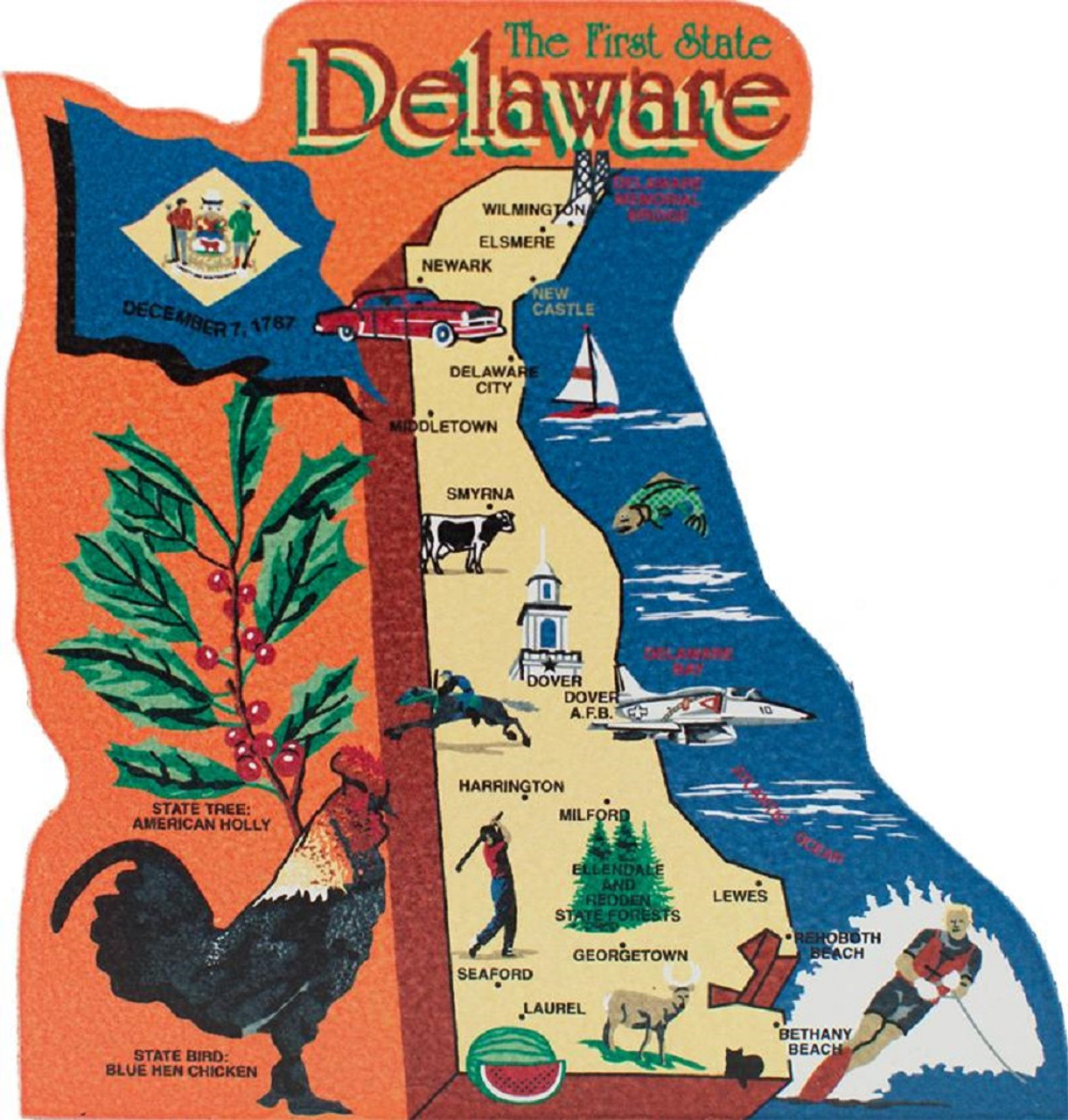 United States Map, Delaware First State on delaware history trail, delaware capital, delaware maryland, delaware major cities, delaware map cities, delaware major geographical features, delaware us map, delaware 13 colony map, delaware usa,