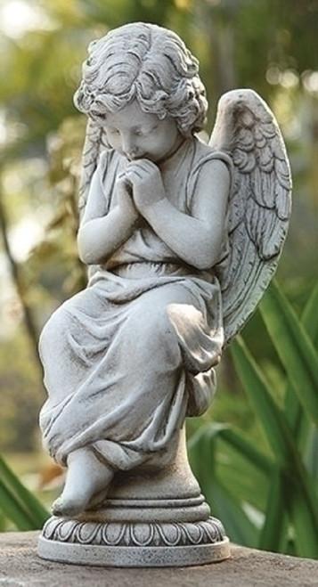 Joseph's Studio Garden Angel Pedestal #65976