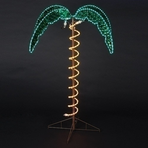 ROMAN Lights - Ropelight Plam Tree 4.5' #169482