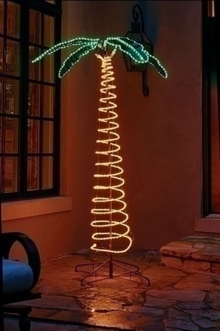 Roman Lights 7' Deluxe Palm Tree Indoor/Outdoor #169480