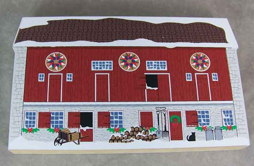 Pennsylvania Dutch Christmas Hex Barn