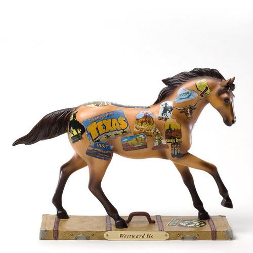 TROPP ENESCO Trail of Painted Ponies Westward HO #4025996 NEW in Gift Box