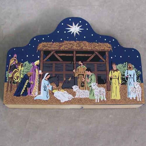 "Nativity Scene ""Don't be afraid"""