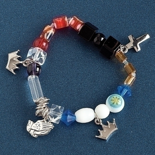 ROMAN The Lord's Prayer Stretch Faith Christian Bracelet #40515