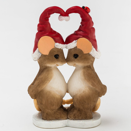 """Charming Tails CHRISTMAS """"What I Love Most About Christmas, Is You"""" 4046943"""
