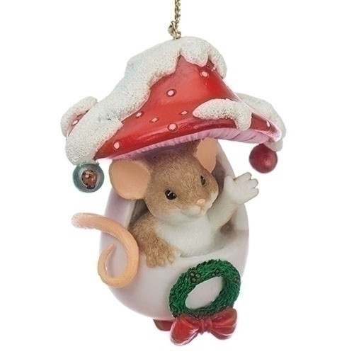 Charming Tails Ornament Holiday Hello #130451