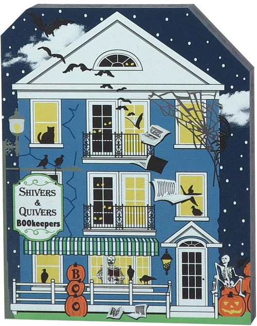 Cat's Meow Village Shiver & Quivers BOOKeepers