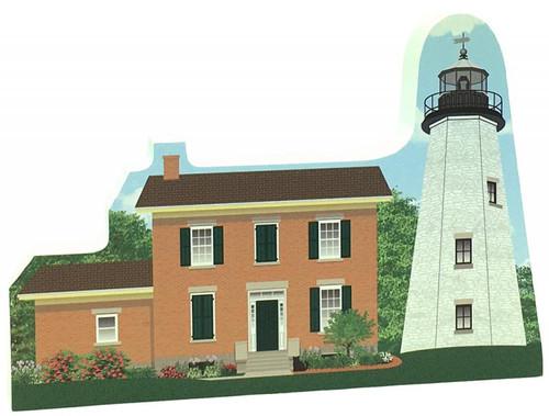 Shelf Sitter - Charlotte-Genesse Lighthouse #R646