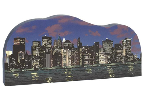 New York City Keepsakes - Night Skyline  #RA967