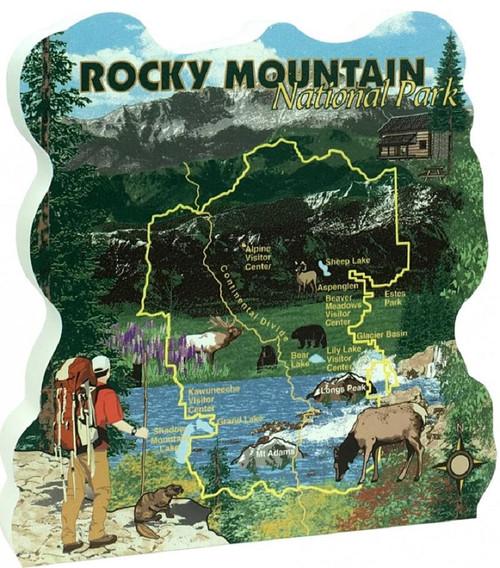 Cat's Meow Village Rocky Mountain National Park Keepsake #RA973
