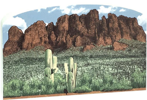Cat's Meow Village  Superstition Mountains #RA585