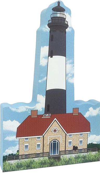 Cat's Meow Village Shelf-sitter Keepsake Fire Island Lighthouse  R980