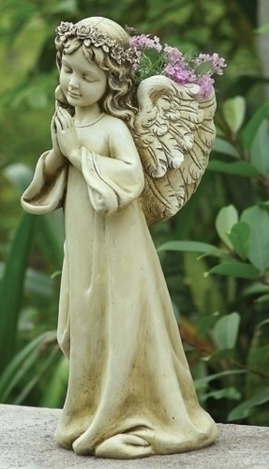 "16"" Praying Angel Planter"
