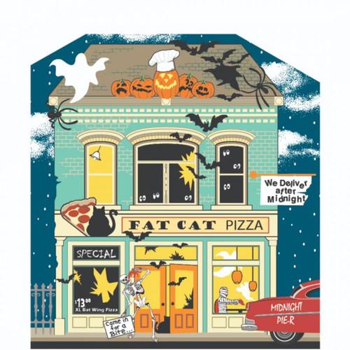 Cat's Meow Village Fat Cat Pizzeria #19-632