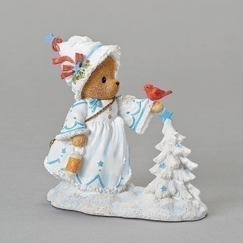 Cherished Teddies Christina White Christmas #132849