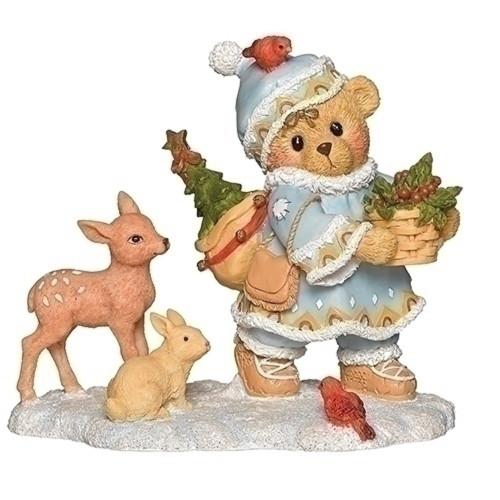 Cherished Teddies Inga Laplander Christmas #132846