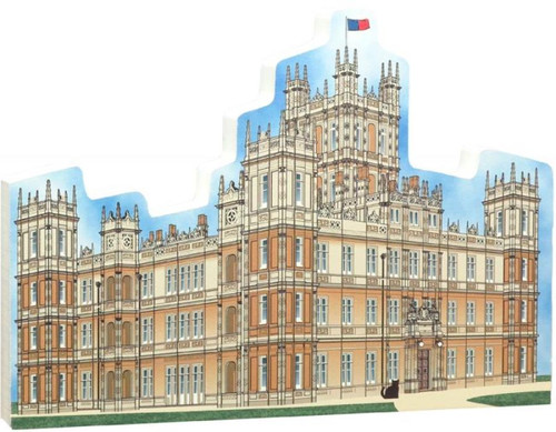 Cat's Meow Village - Downton Abbey Highclere Castle Newbury England R954
