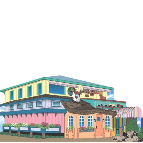 Sanibel Florida Bubble Room Restaurant Collectible