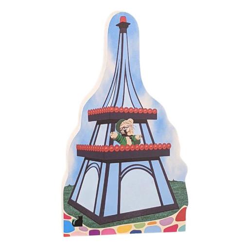 Cat's Meow Village Grandpere's Eiffel Tower #20-471+