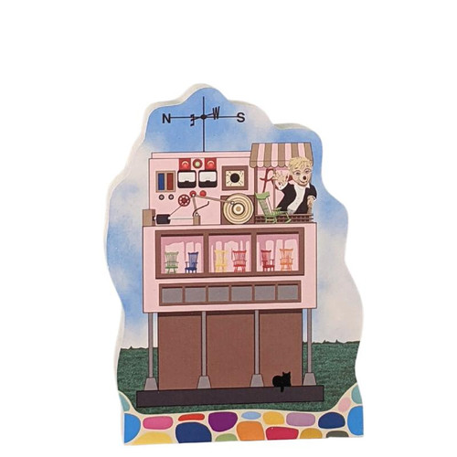 Cat's Meow Village Cornflake S Pecially Rock-it Factory #20-472