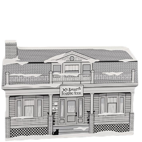 Cat's Meow Village - Wonderful Life Series - Ma Bailey's Boarding House #20-481