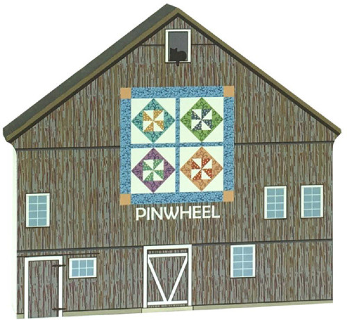 Pinwheel Quilt Barn Cat's Meow Village 17-511