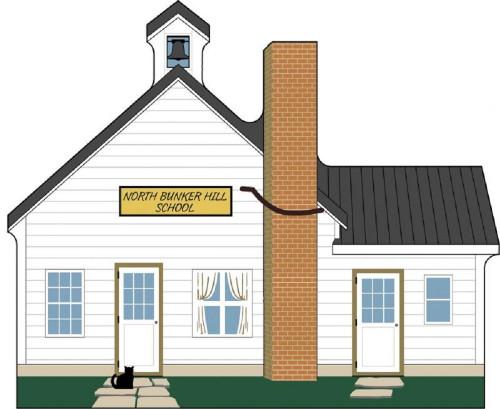 Amish Bunker School - Cat's Meow Village 15-413