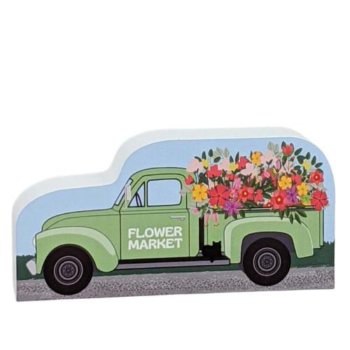 Quilt Barn Collection - Flower Market Vintage Truck #21-651