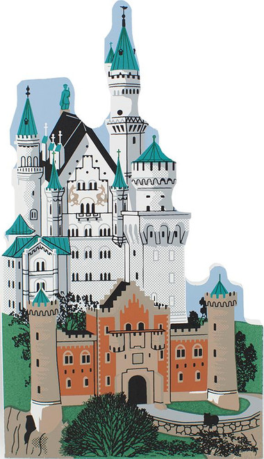 "Cat's Meow Village Shelf Sitter - Neuschwanstein ""Sleeping Beauty"" Castle 00-915"
