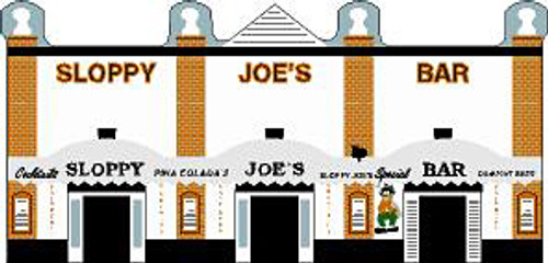 Cat's Meow Village Sloppy Joe's Bar