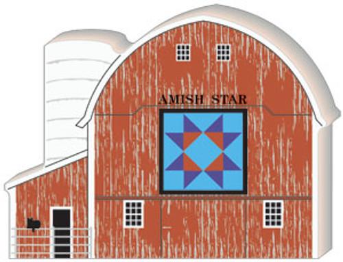 Amish Star Quilt Barn #06-511
