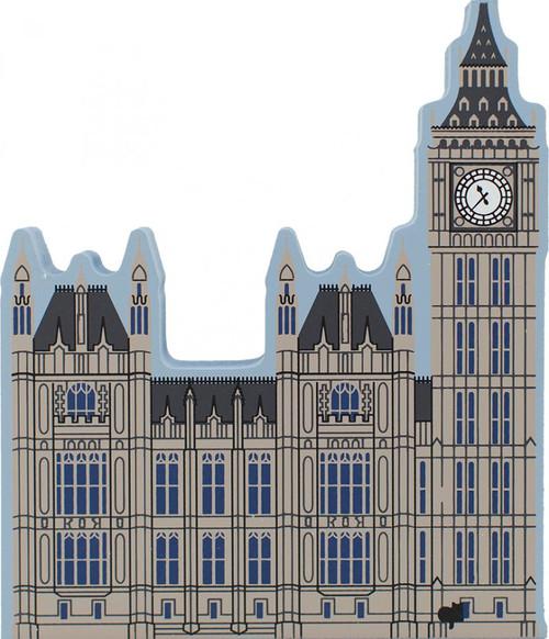 Cat's Meow Village Shelf Sitter --  Big Ben Clock Tower London England 00-916