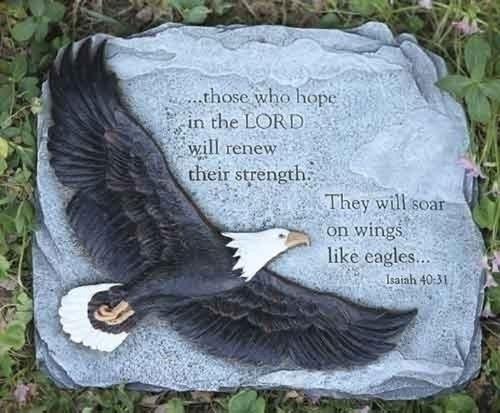 Eagle Stepping Stone - Soar on Wings Like Eagles