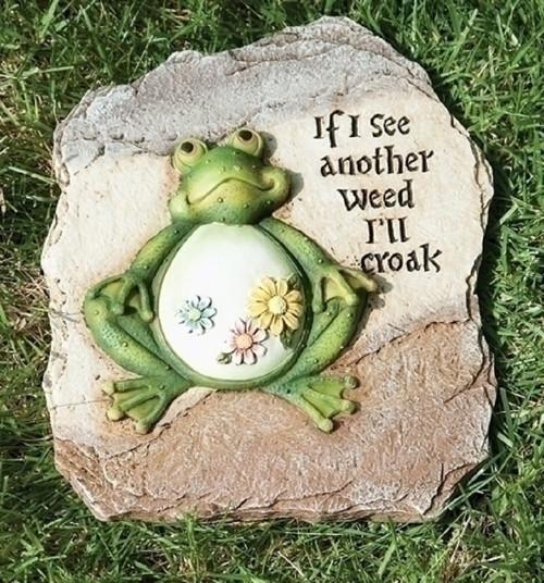 Frog Garden Stone - 65475